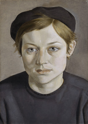 Freud girl with beret 1951-52