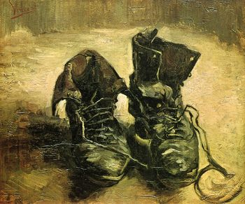 Van gogh a pair of shoes 1886