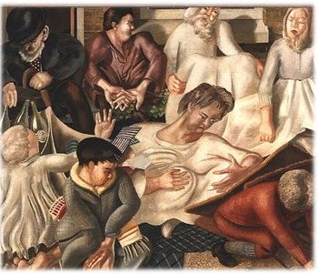 Spencer villagers and saints 1933