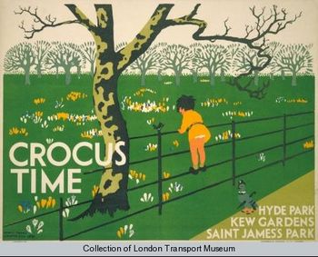 Crocus time henry perry 1931
