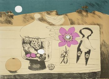 Mary Fedden Pot of Shells 1971 Tate