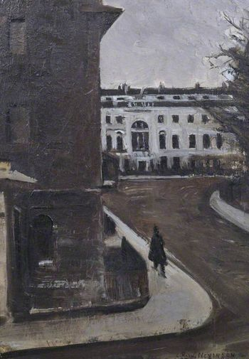Fitzroy square christopher nevinson