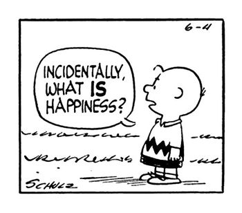 Peanuts happiness