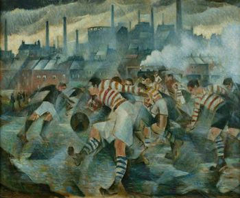 Cr nevinson any wintry afternoon