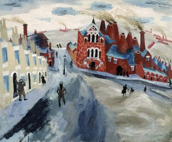 Julian trevelyan the potteries c1938