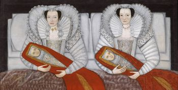 The cholmondeley ladies c1600-10
