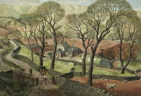 Patrick (James McIntosh) Springtime in Eskdale 1935 walker
