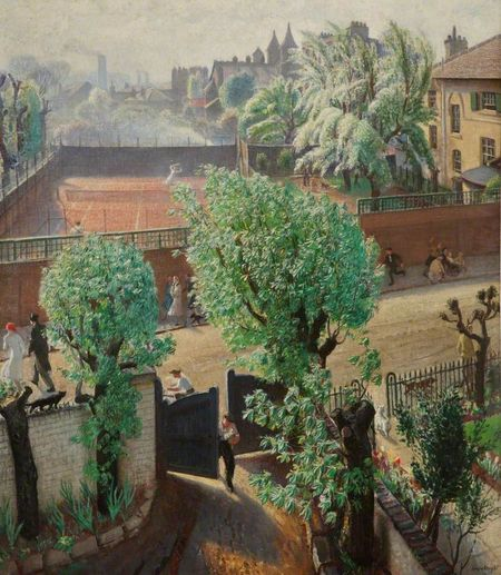 Knight laura spring in st john's wood 1933 walker