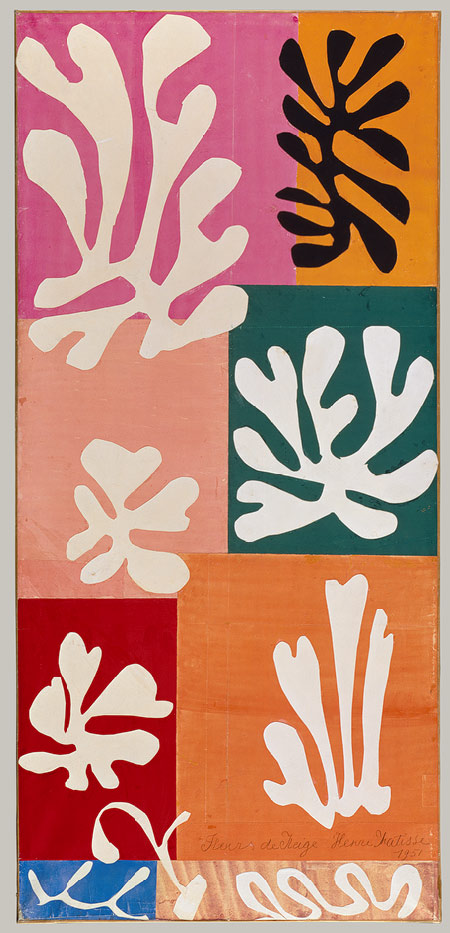 Matisse snow flowers 1941