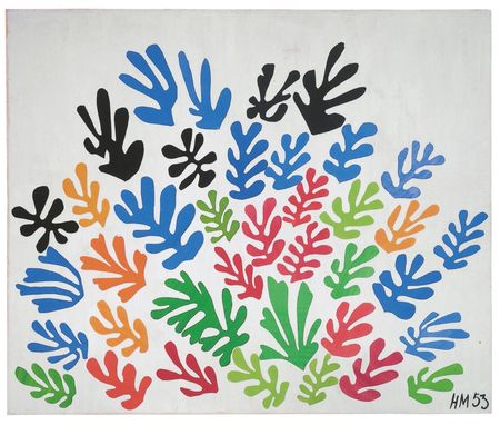 Matisse the sheaf 1953